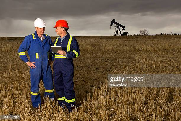 Oil Workers and Digital PC