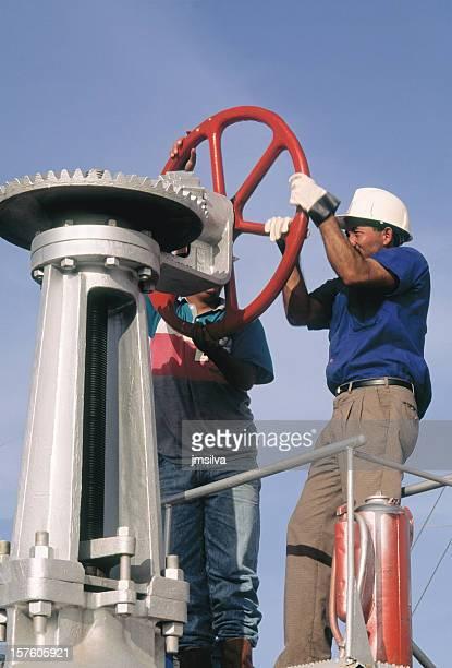 L'huile travailleurs