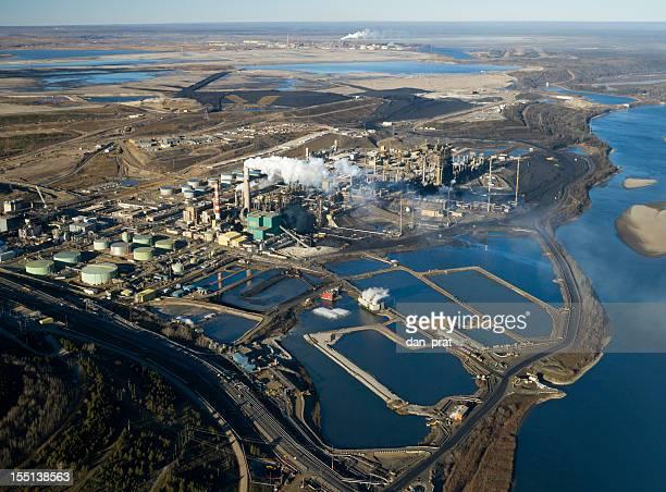 Oilsands Raffinerie
