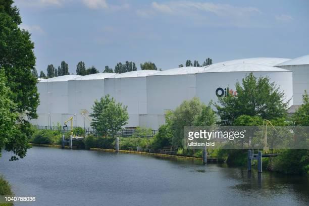 Oiltanking, Teltowkanal, Lankwitz, Steglitz-Zehlendorf, Berlin, Deutschland