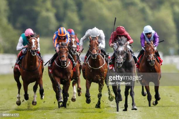 Oisin Murphy riding Roaring Lion comfortably win The Betfred Dante Stakes at York Racecourse on May 17, 2018 in York, United Kingdom.