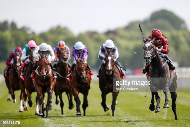 Oisin Murphy riding Roaring Lion comfortably win The Betfred Dante Stakes at York Racecourse on May 17 2018 in York United Kingdom