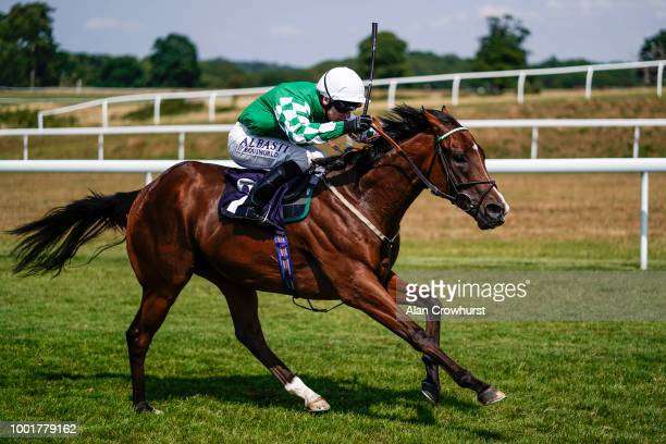 Oisin Murphy riding Rockin Roy win The Open Championship Golf In Play At starsports.bet Novice Median Auction Stakes at Chepstow Racecourse on July...