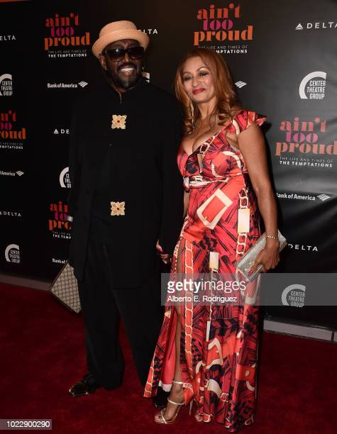 Oits Williams attends the Opening Night of Ain't Too Proud The Life And Times Of The Temptations at the Ahmanson Theatre on August 24 2018 in Los...