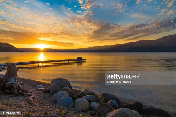okanagan lake - kelowna stock pictures, royalty-free photos & images