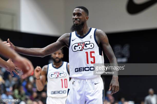 Okario White of the Capital City GoGo looks on during a game against the South Bay Lakers on December 13 2018 at UCLA Heath Training Center in El...
