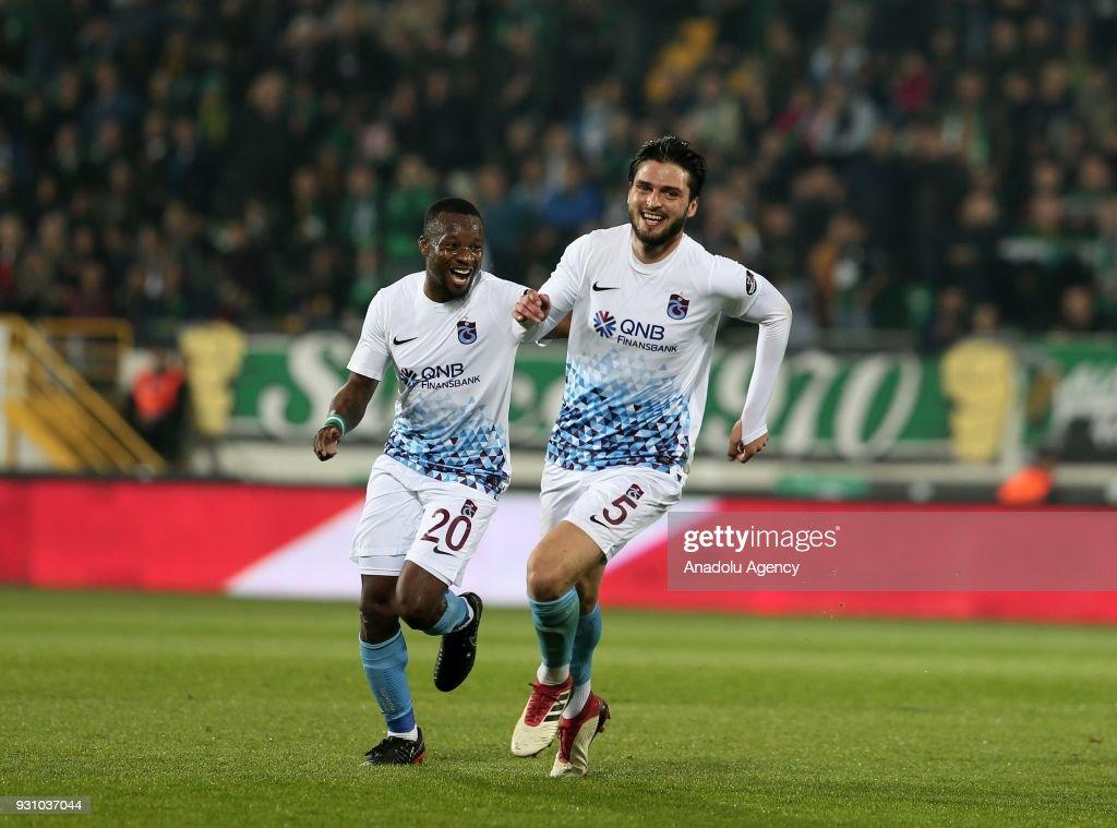 Teleset Mobilya Akhisarspor vs Trabzonspor: Turkish Super Lig : News Photo