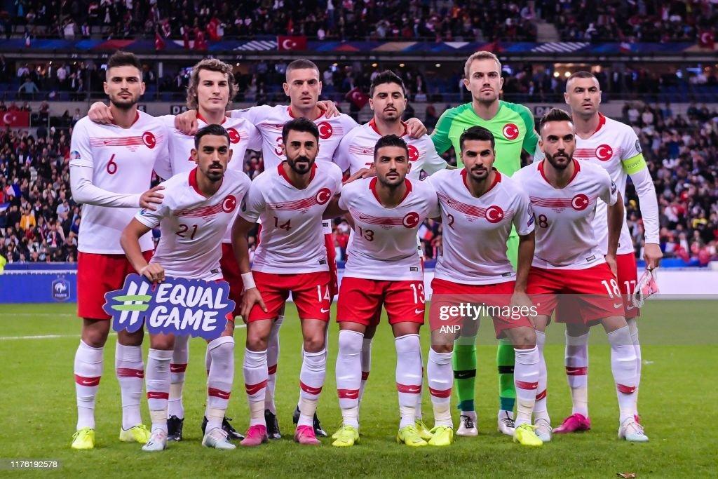 """UEFA EURO 2020 qualifier group H""""France v Turkye"""" : Nachrichtenfoto"""