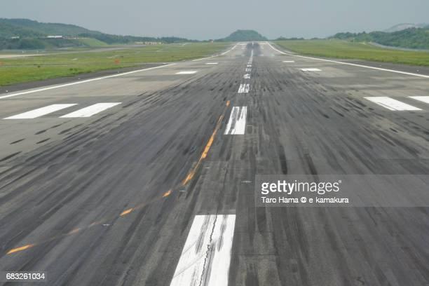 Okayama airport runway