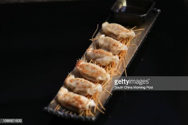 Okinawa Agu pork dumplings from En Grill & Bar, Lan Kwai Fong, Central. 01DEC15 SCMP/K. Y. Cheng