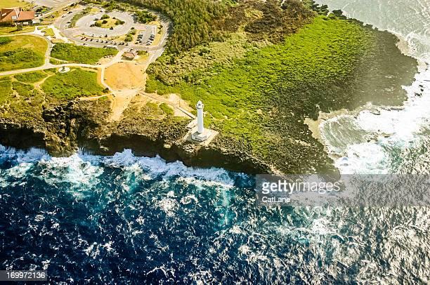 沖縄、日本の空から見た風景:ケイプ Zanpa