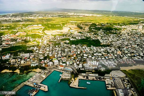 沖縄県、日本 空からの眺め