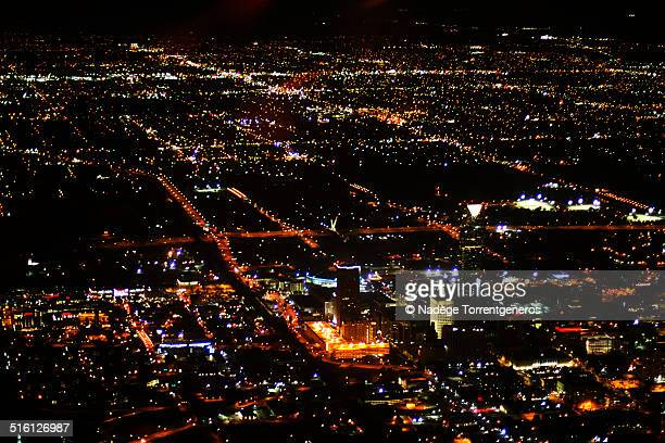 oklahoma city lights - oklahoma city stock pictures, royalty-free photos & images