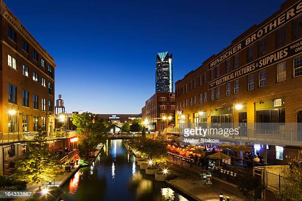 oklahoma city, oklahoma, city view - oklahoma city stock pictures, royalty-free photos & images