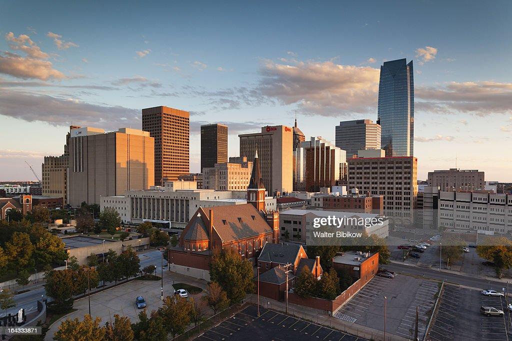 Oklahoma City, Oklahoma, City View : Stock Photo