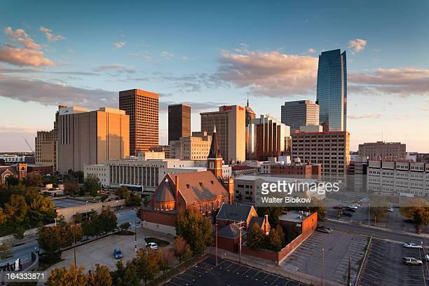 oklahoma city, oklahoma, city view - オクラホマ州 ストックフォトと画像