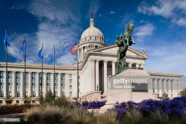 oklahoma city, oklahoma, exterior view - oklahoma city stock pictures, royalty-free photos & images