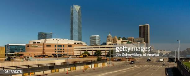 Oklahoma City Skyline, Oklahoma.