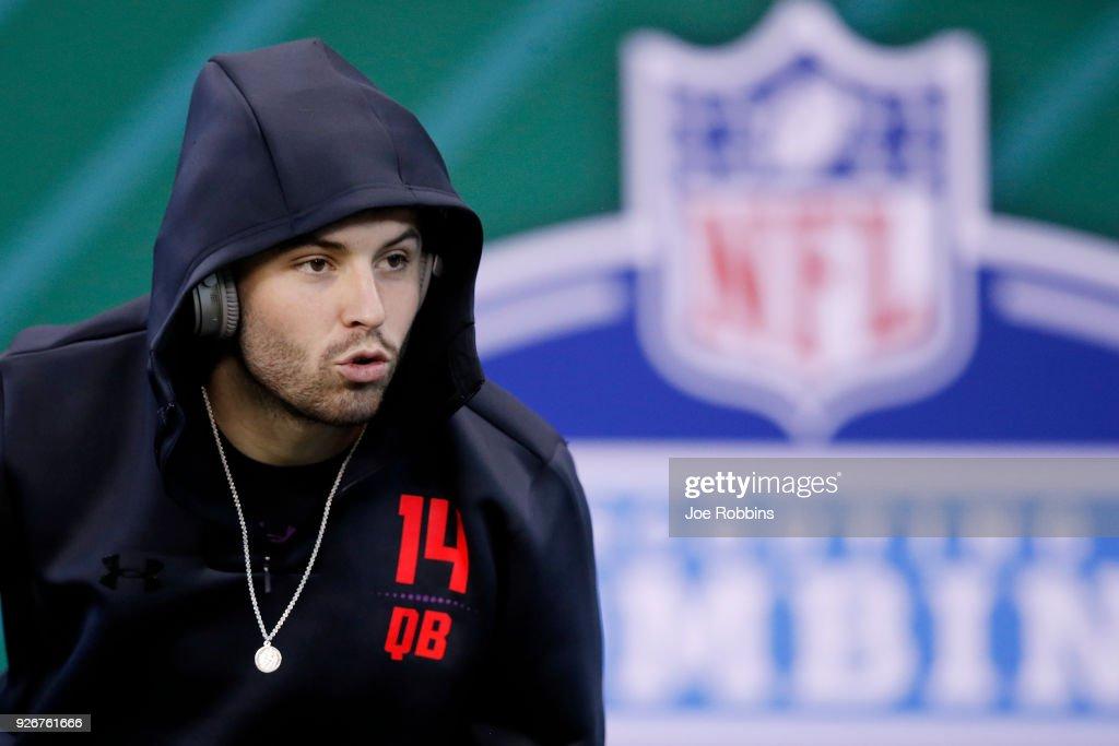 NFL Combine - Day 3 : Nachrichtenfoto