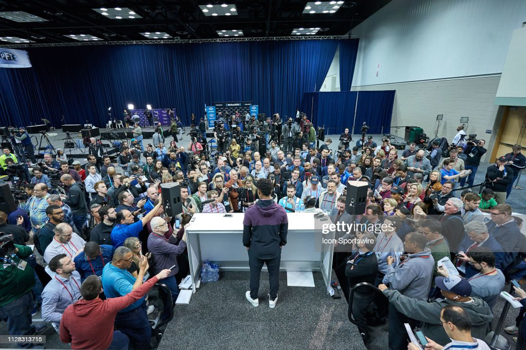 NFL: MAR 01 Scouting Combine : News Photo