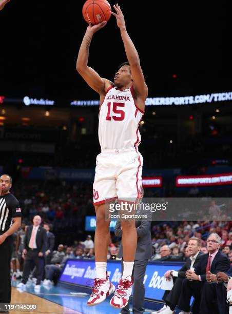Oklahoma Sooners Guard Alondes Williams with the long jumper during a NCAA basketball game between the Oklahoma Sooners and the Mississippi State...