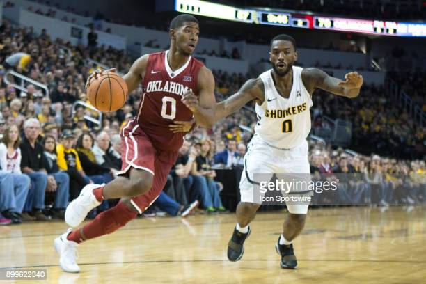 Oklahoma Sooners guard Christian James during the college mens basketball game between the Oklahoma Sooners and the Wichita State Shockers on...