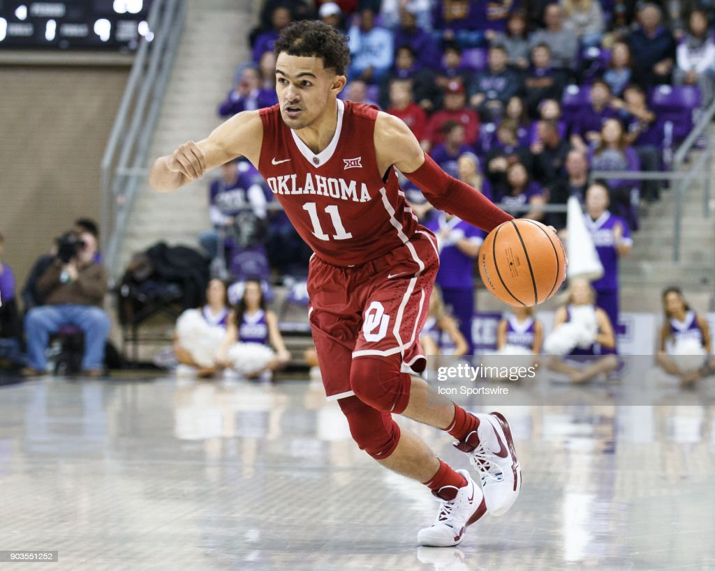 COLLEGE BASKETBALL: DEC 30 Oklahoma at TCU : News Photo