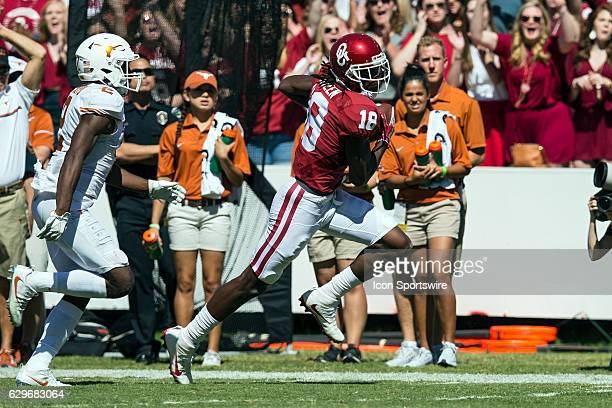 Oklahoma Sooners wide receiver Dahu Green during the Oklahoma Sooners 45-40 victory over the Texas Longhorns in their Red River Showdown on October...