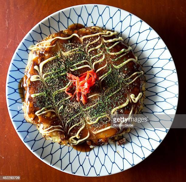 Ittoku Boston Izakaya: Okonomiyaki Stock Photos And Pictures