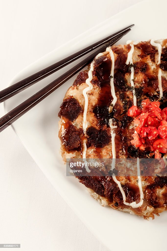 Okonomiyaki : Stock Photo