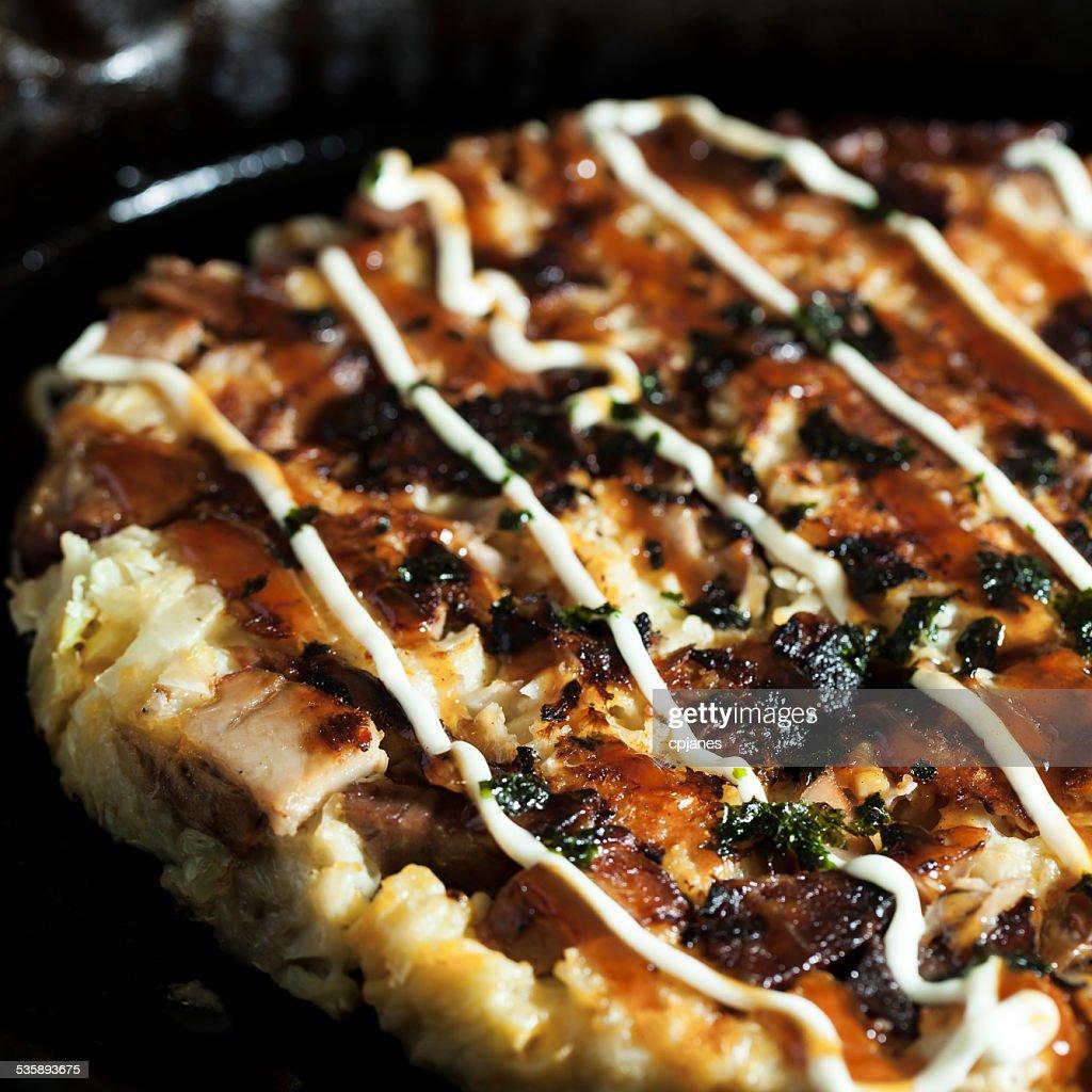 Okonomiyaki : Stock Photo