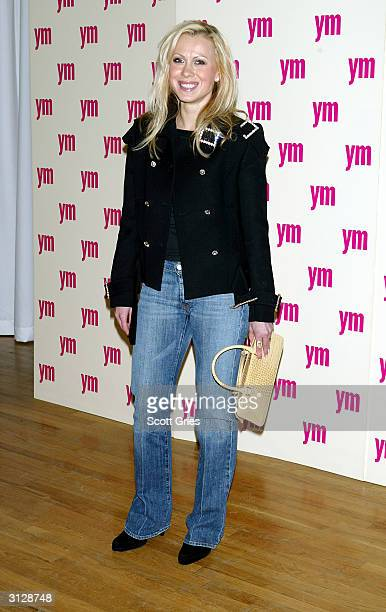 Oksana Baiul arrives at the 5th Annual YM MTV Issue party at Spirit March 24 2004 in New York City