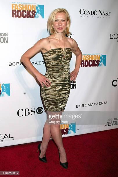 Oksana Baiul during 2005 Fashion Rocks Red Carpet Arrivals at Radio City Music Hall in New York City New York United States