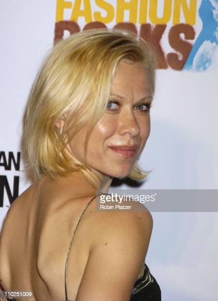 Oksana Baiul during 2005 Fashion Rocks Red Carpet at Radio City Music Hall in New York City New York United States
