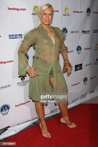 Oksana Baiul during A Midsummer Night's Dream Annual Celebrity AllStar Charity Weekend at The Avalon Club in Hollywood California United States