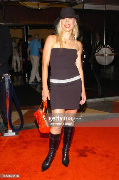 Oksana Baiul during I ROBOT New York Premiere Arrivals at Beekman Theater in New York City New York United States