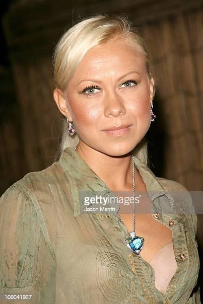 Oksana Baiul during Midsummer Night's Dream A Magic Night of Poker Arrivals at The Avalon in Hollywood California United States