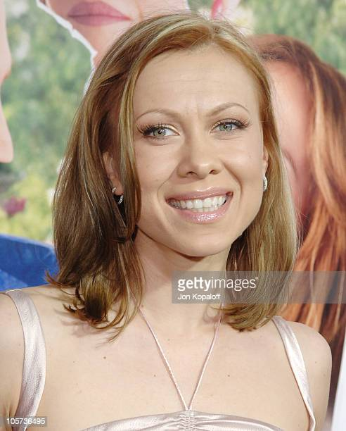 Oksana Baiul during MonsterInLaw Los Angeles Premiere at Mann National Theatre in Hollywood CA United States