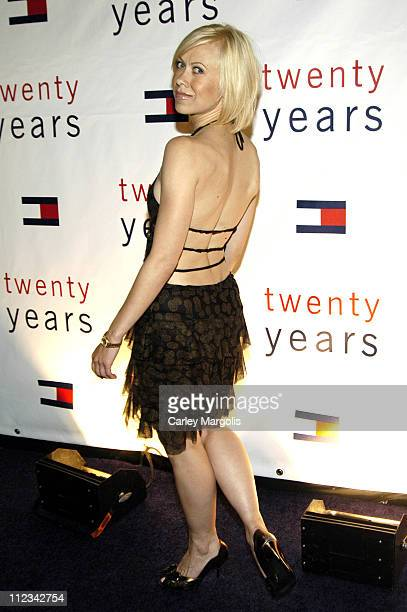 Oksana Baiul during Olympus Fashion Week Spring 2006 Tommy Hilfiger After Party at Crobar in New York City New York United States