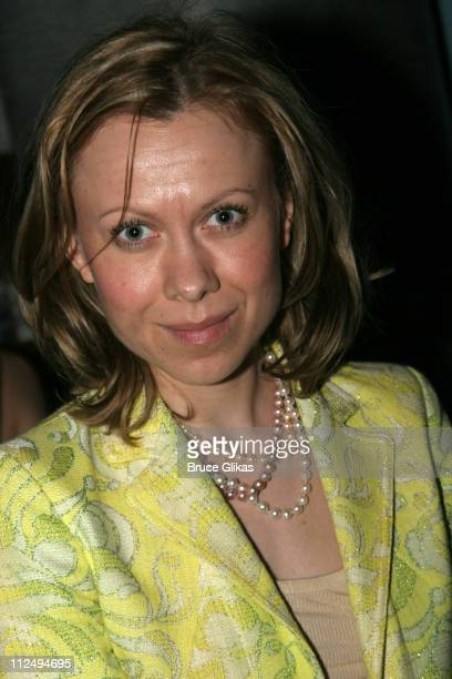 Oksana Baiul during On Golden Pond Opening Night on Broadway Curtain Call and After Party at The Cort Theater and Blue Fin in New York City New York...