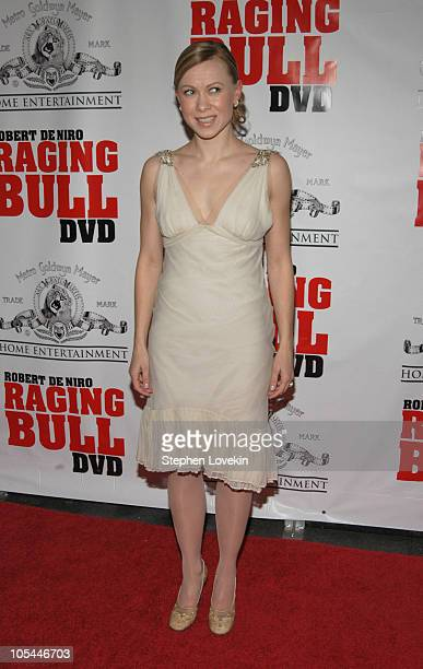 """Oksana Baiul during """"Raging Bull"""" 25th Anniversary and Collector's Edition DVD Release Celebration at Ziegfeld Theatre in New York City, New York,..."""