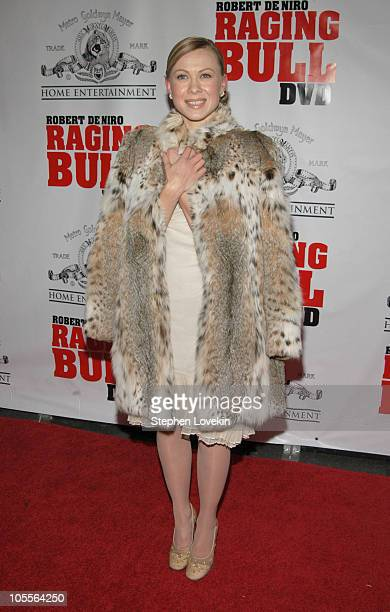 Oksana Baiul during Raging Bull 25th Anniversary and Collector's Edition DVD Release Celebration at Ziegfeld Theatre in New York City New York United...