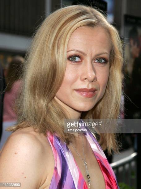 Oksana Baiul during The Island New York City Premiere Outside Arrivals at Ziegfeld Theater in New York City New York United States