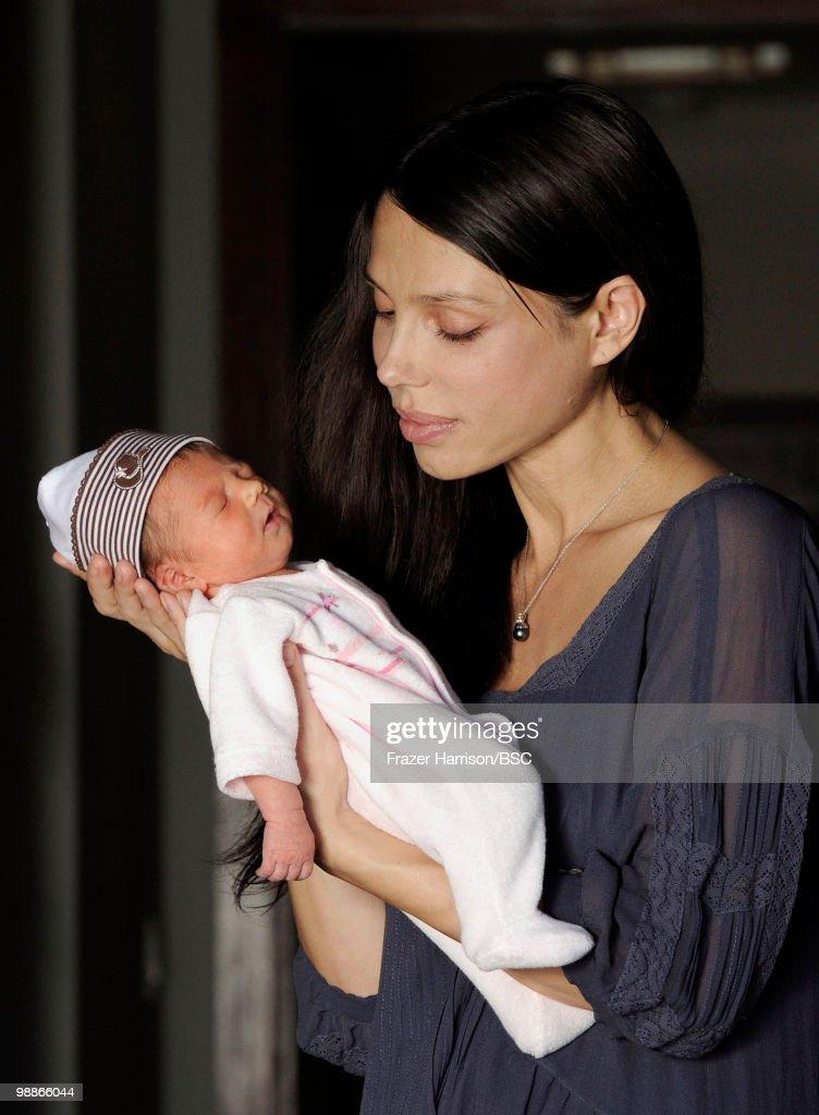 Oksana Grigorieva And Daughter Lucia Photo Shoot