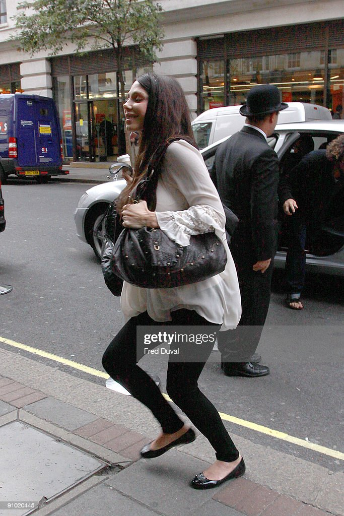 Celebrity Sightings During London Fashion Week Spring/Summer 2010 - Day 5