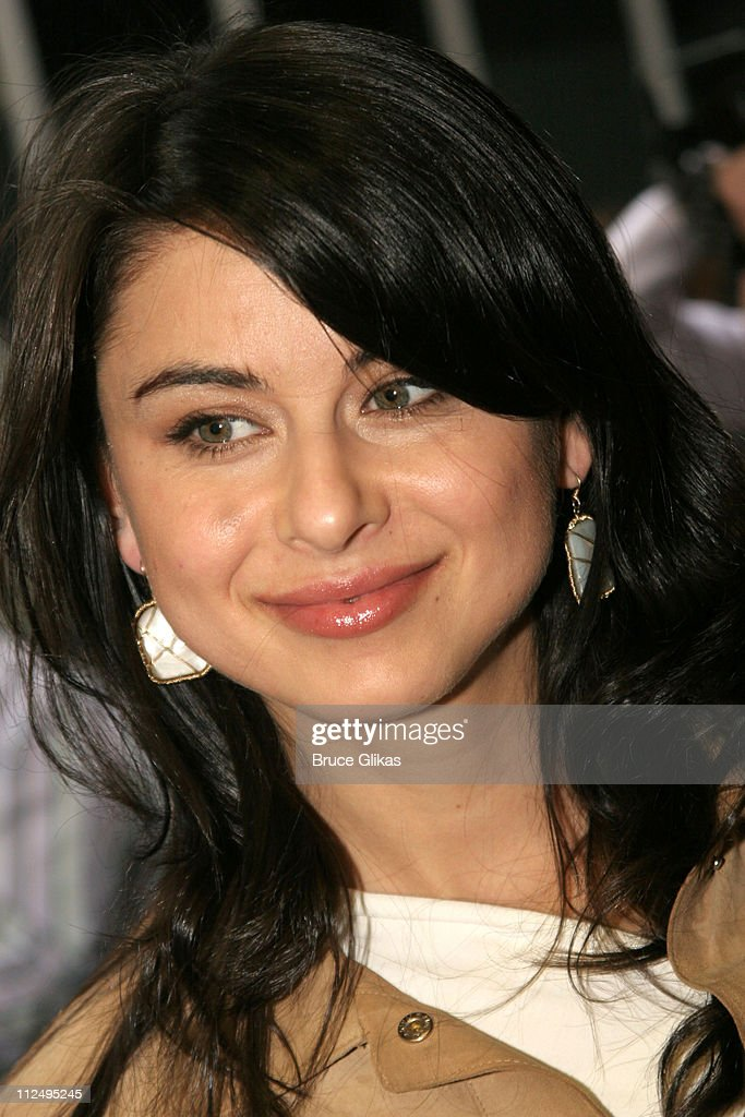 Oksana Lada during Opening Night of Martin McDonagh's 'The Pillowman' on Broadway - Arrivals at The Booth Theater in New York City, NY, United States.