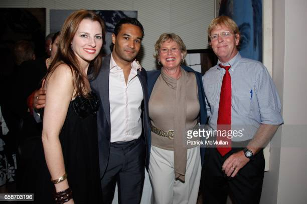 Oksana Pidhoreckyj Claudio Osch Donna Holcombe and Chris Holcombe attend Paul Chester's Children Hope Foundation's Annual Benefit at Core Club on...