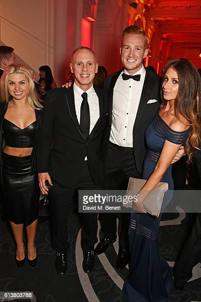 Oksana Platero Judge Rinder Greg Rutherford and Susie Verrill attend the Attitude Awards 2016 in association with Virgin Holidays at 8 Northumberland...