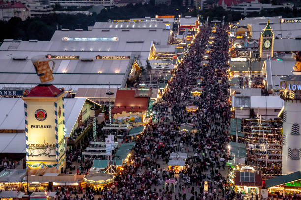 Oktoberfest Aerial and general view