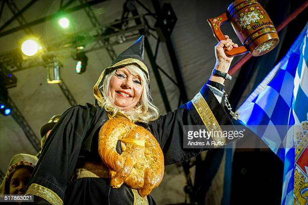 Oktoberfest Argentina National Beer Festival in the town of Villa General Belgrano on October 3 2014